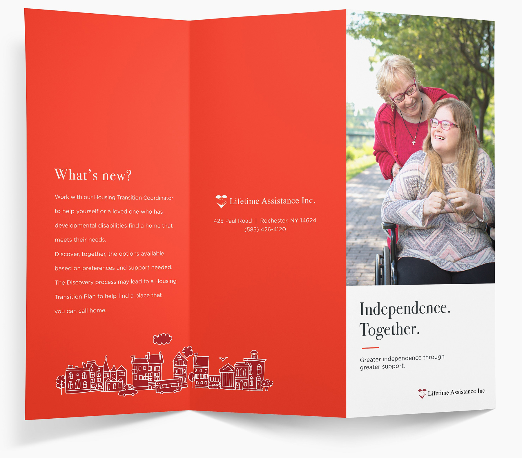 Lifetime Assistance Print Production Brochure full