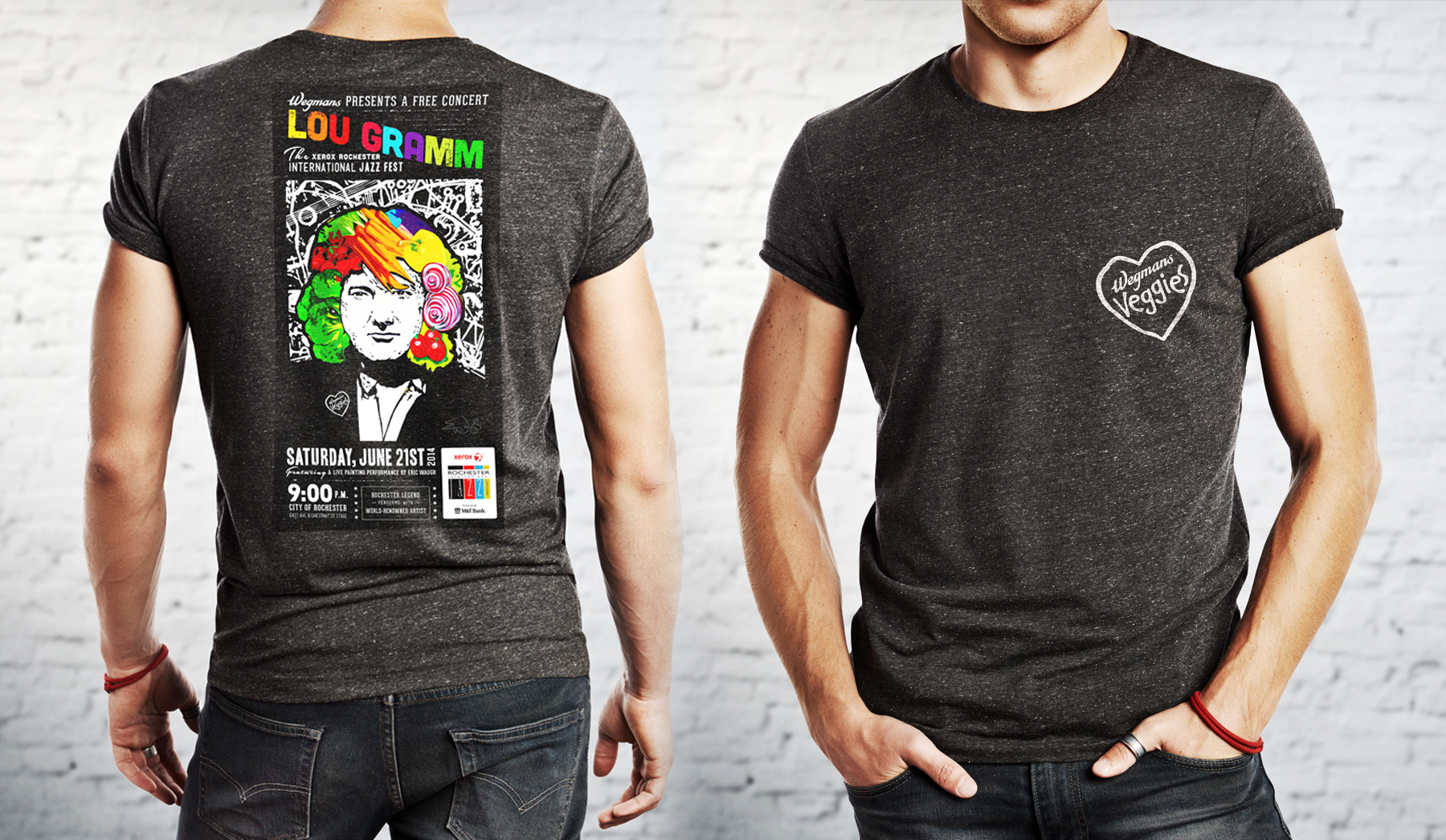 Wegmans Veggies Event Tshirts