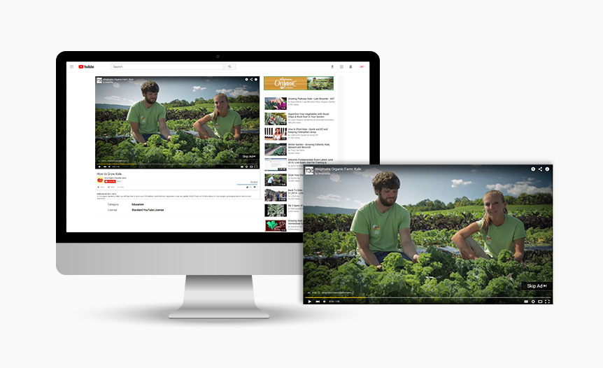 Organic Farm Digital YouTube Advertising