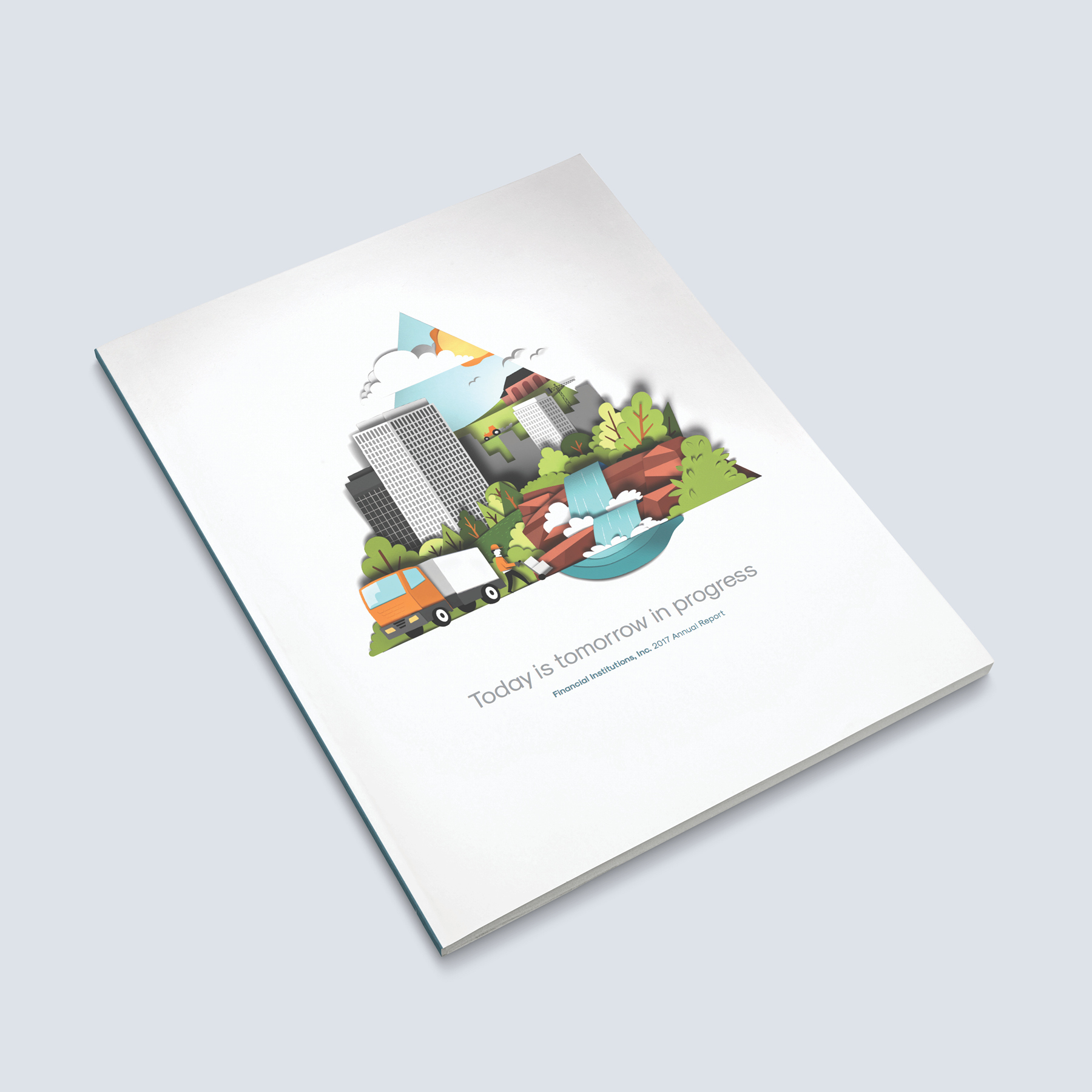 FSB Annual Report Print Production Cover Full