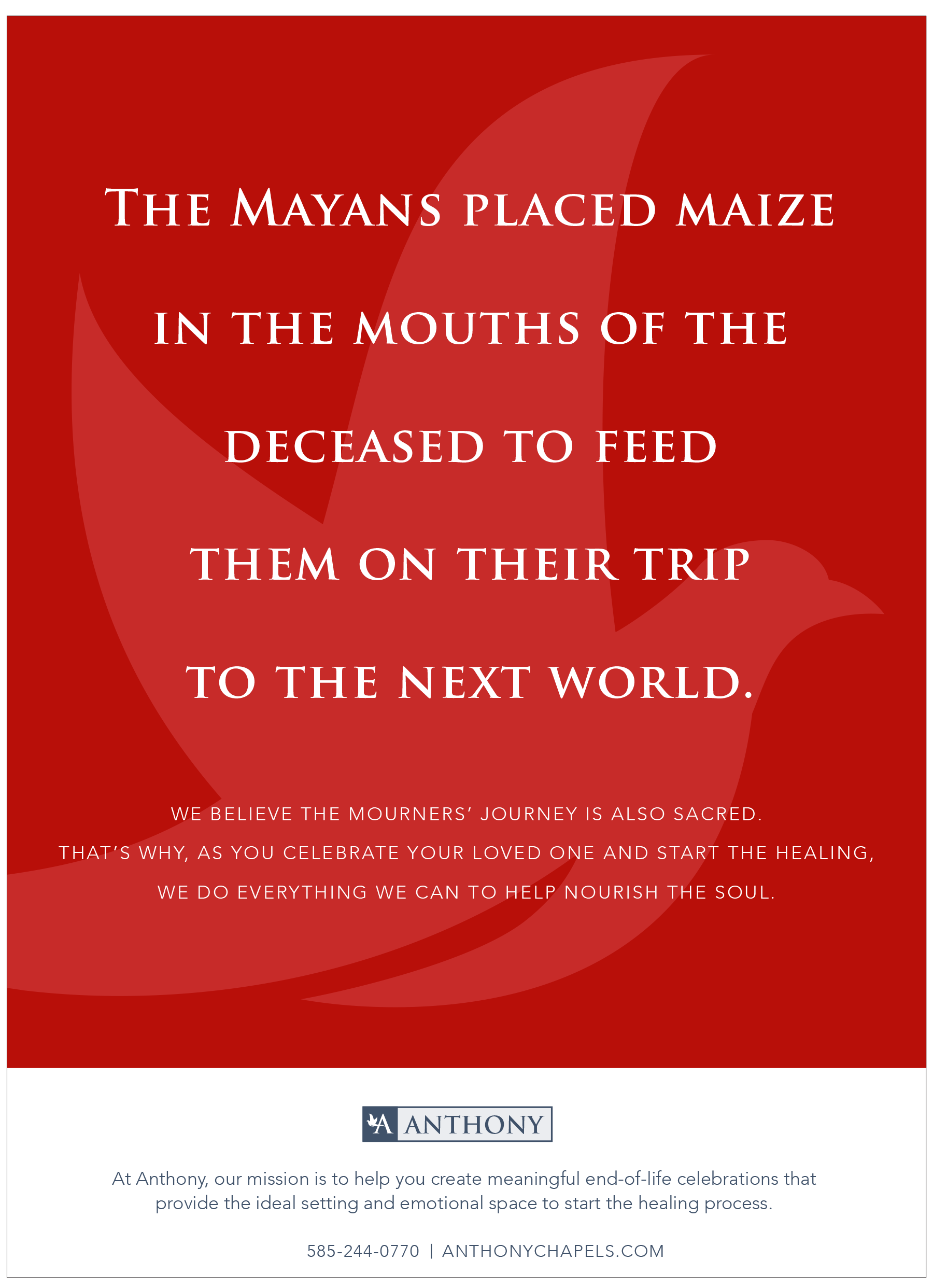 Anthony Print Ad- Mayans