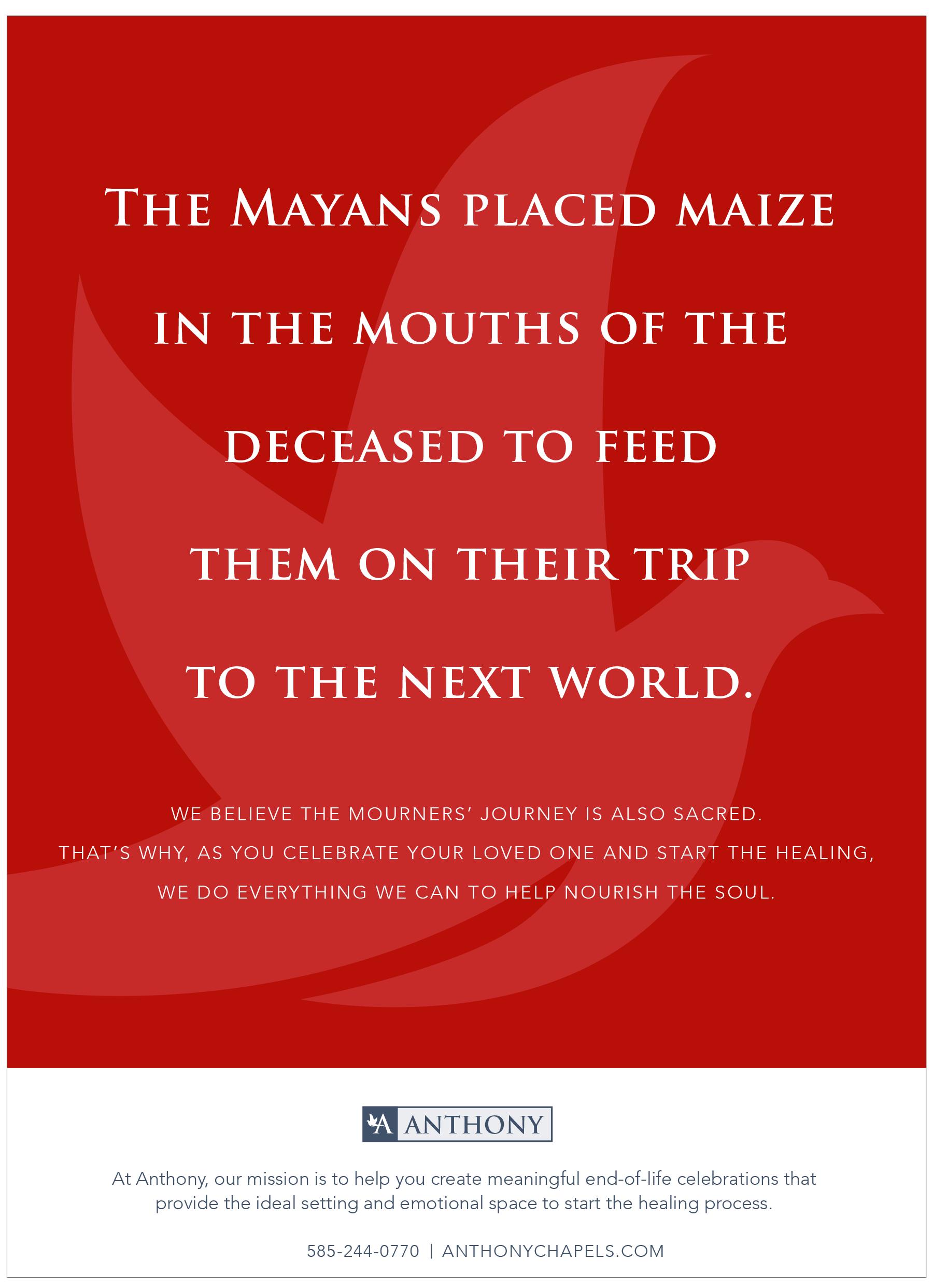 Anthony Print Ad- Mayans