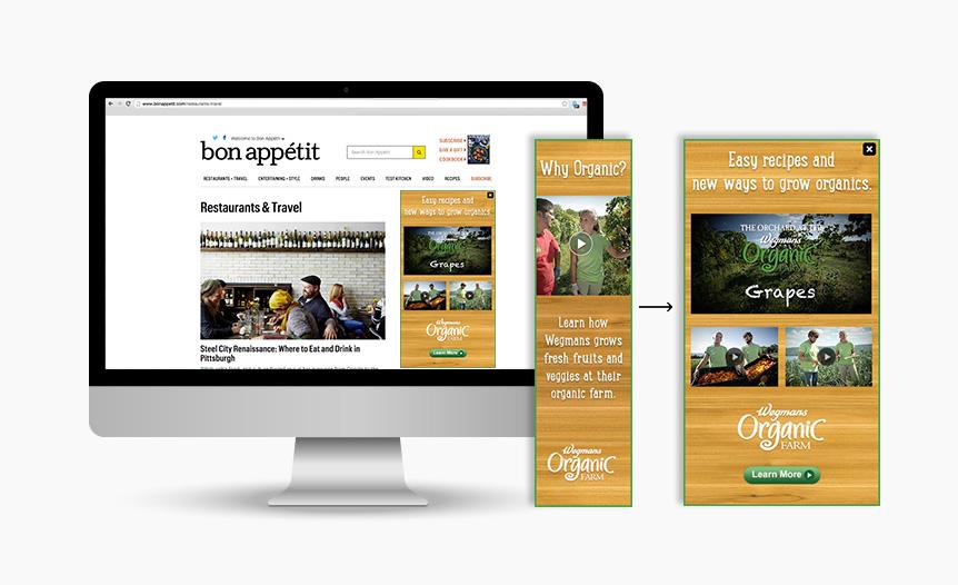 Organic Farm Digital Rich Media Advertising