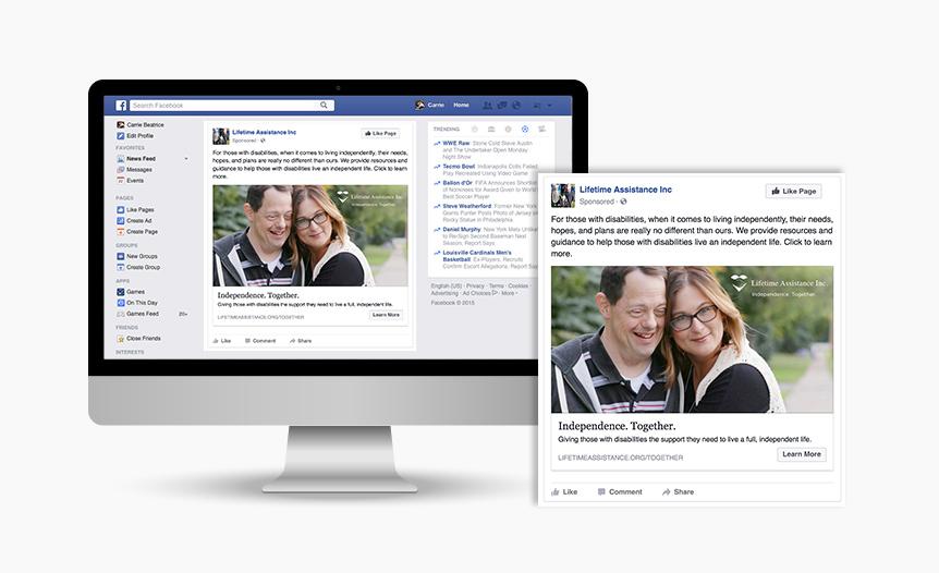 Lifetime Assistance Digital Advertising Facebook